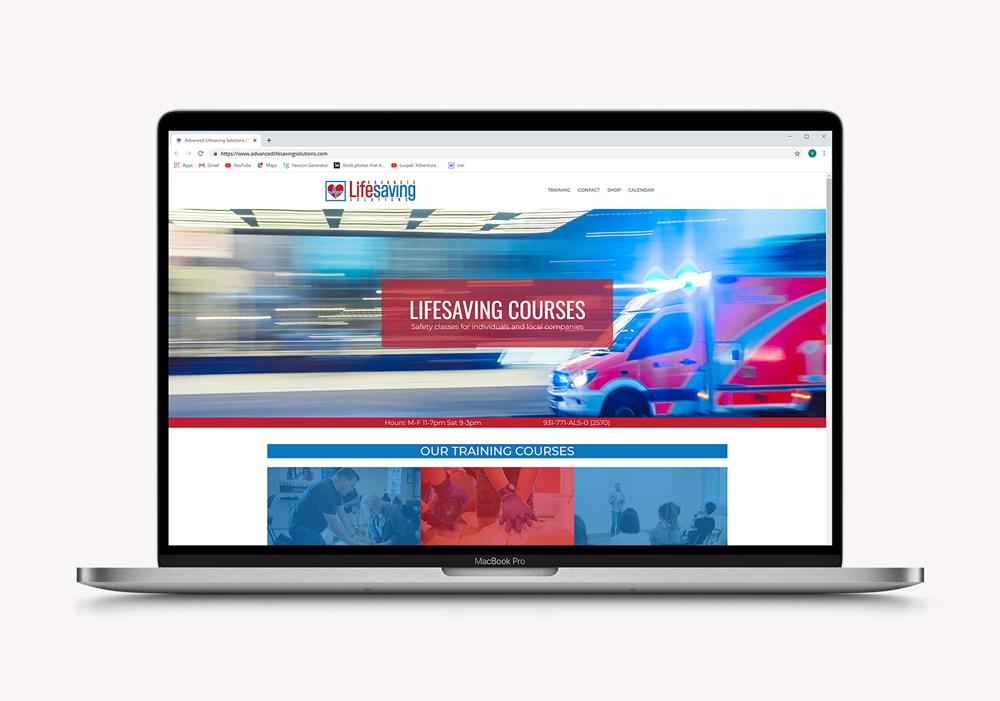 Web Design | Advanced Lifesaving Solutions