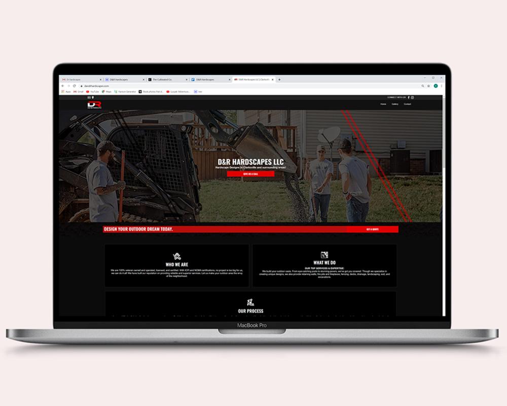 D&R Hardscapes LLC | Web Design
