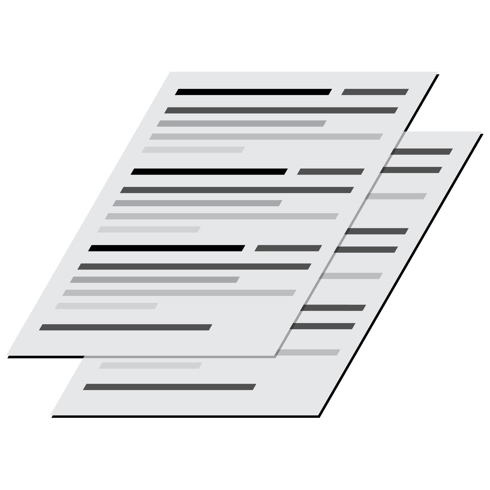 Copy Writing Icon