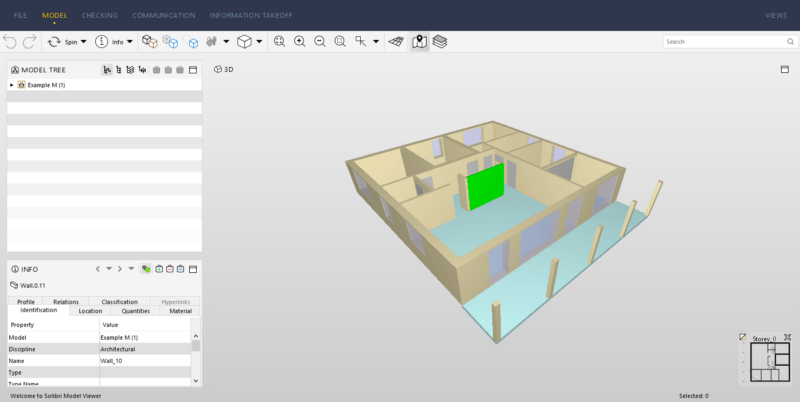 Image of exported 3D model
