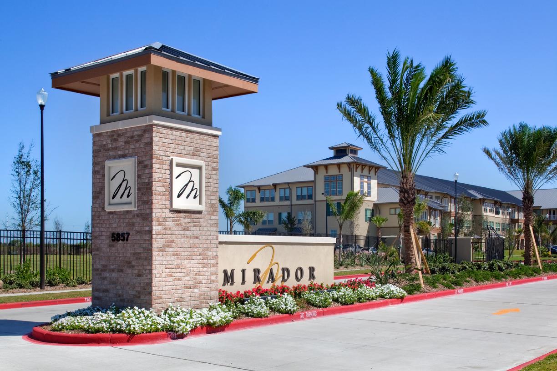 An exterior shot of Mirador.