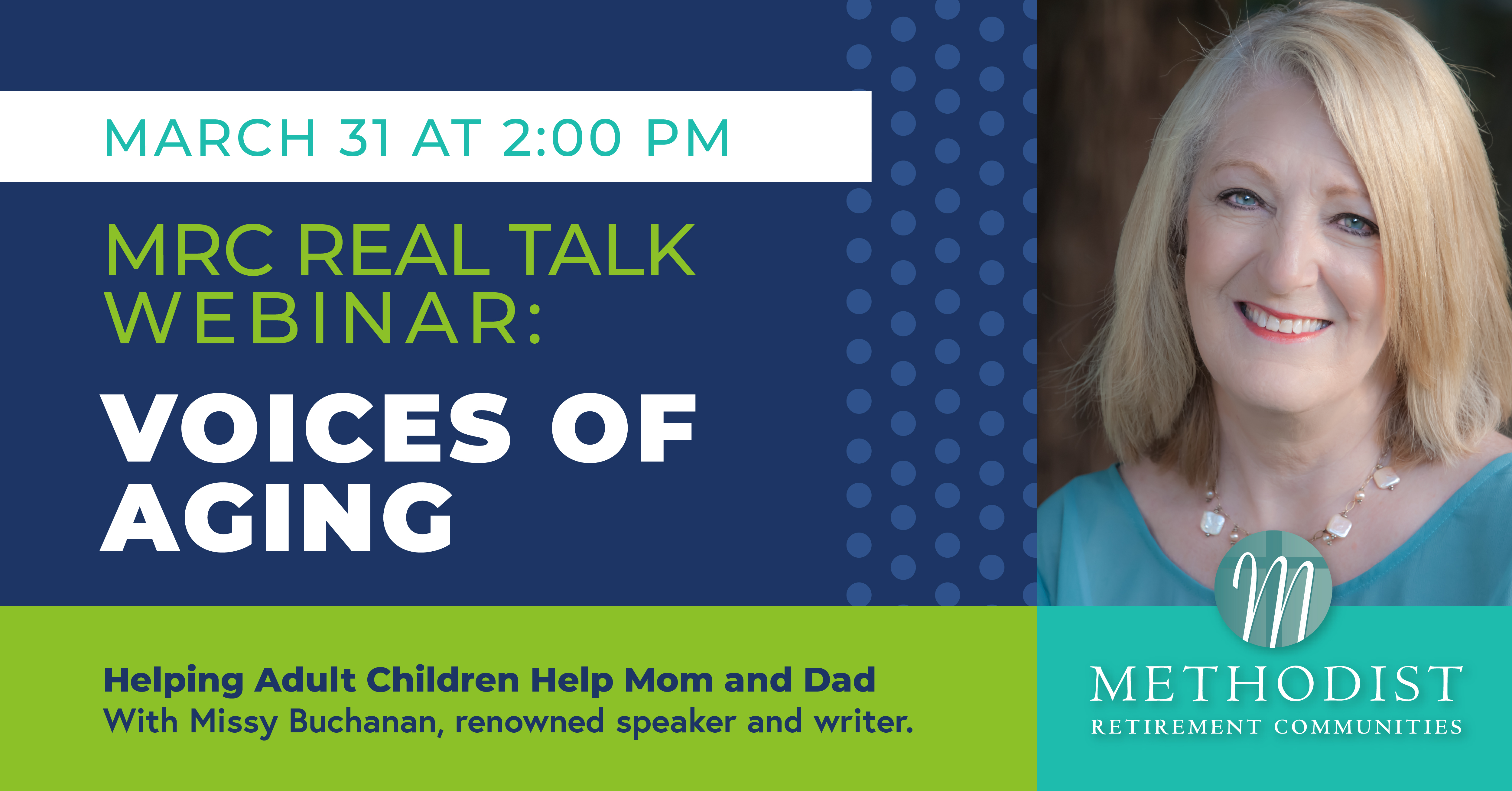 MRC REAL TALK WEBINAR: VOICES OF AGING