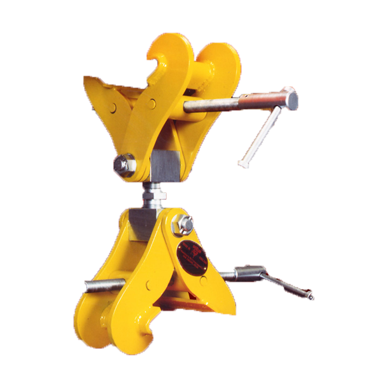 Adjustable Double-Ended SUPERCLAMP Monorail Construction Clamp
