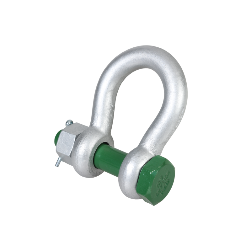 Green Pin® Bow Shackle BN (Standard Bow Shackle with Safety Bolt)