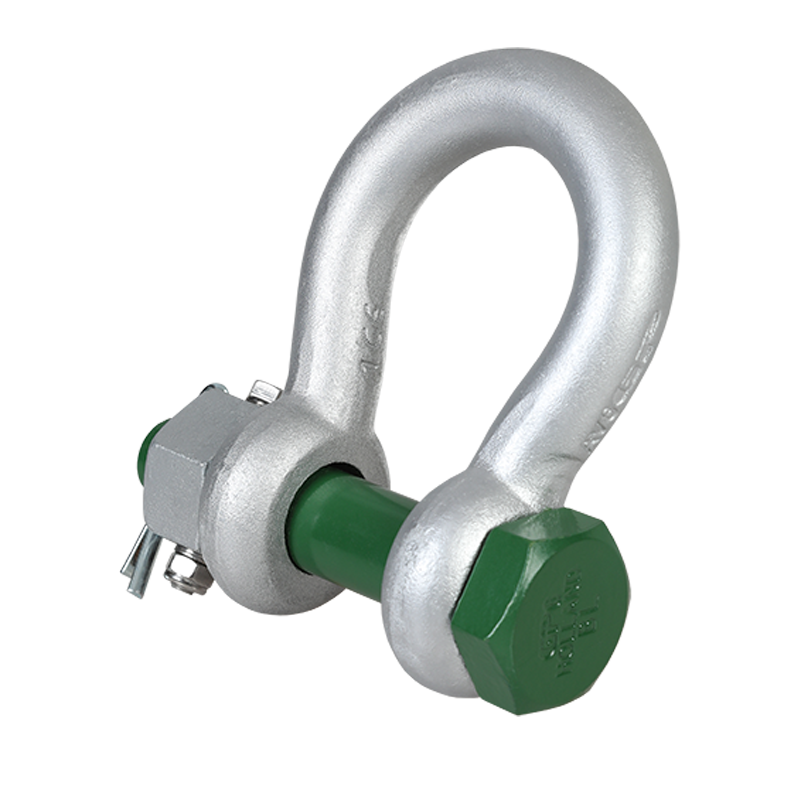 Green Pin® Heavy Duty Bow Shackle BN (High Load Capacity Bow Shackle with Safety Bolt)
