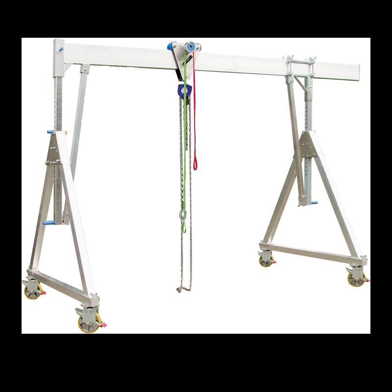 Gantry Crane Aluminium 1000 - 1500kg