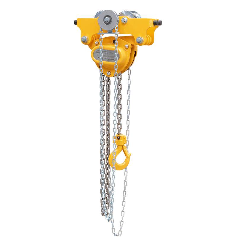 Low Headroom Trolley Hoist Combination