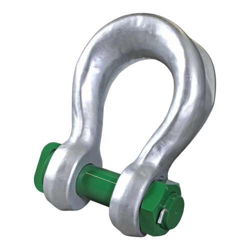 Green Pin® Sling Shackle BN (High Load Capacity Bow Shackle with Safety Bolt)