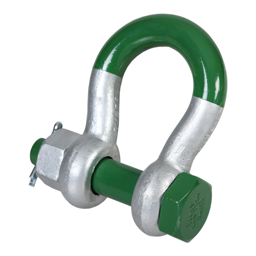 Green Pin® Super Bow Shackle BN (Grade 8 Bow Shackle with Safety Bolt)