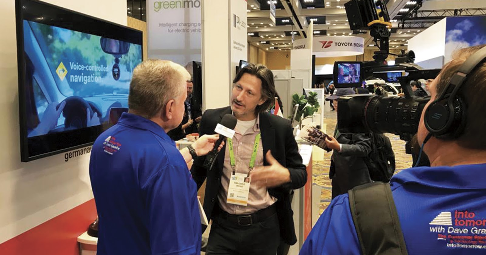 German Autolabs CEO Holger G.Weiss meets the press at CES 2019