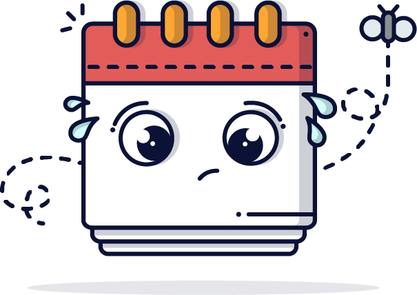 Calendar icon for events feed