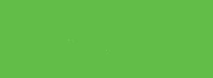 Tegning av grønn gren med blader