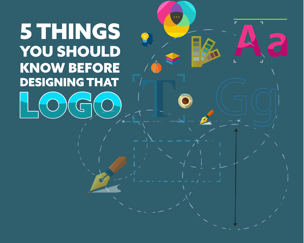 5 Tips on designing a logo before you design a logo