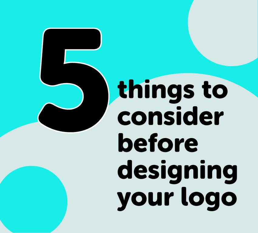 5 Tips on designing a logo before you design a logo