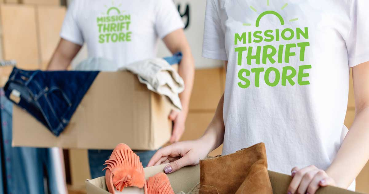 Donating to Langley Mission Thrift