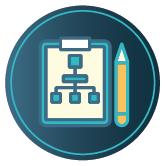 CDE form plan icon