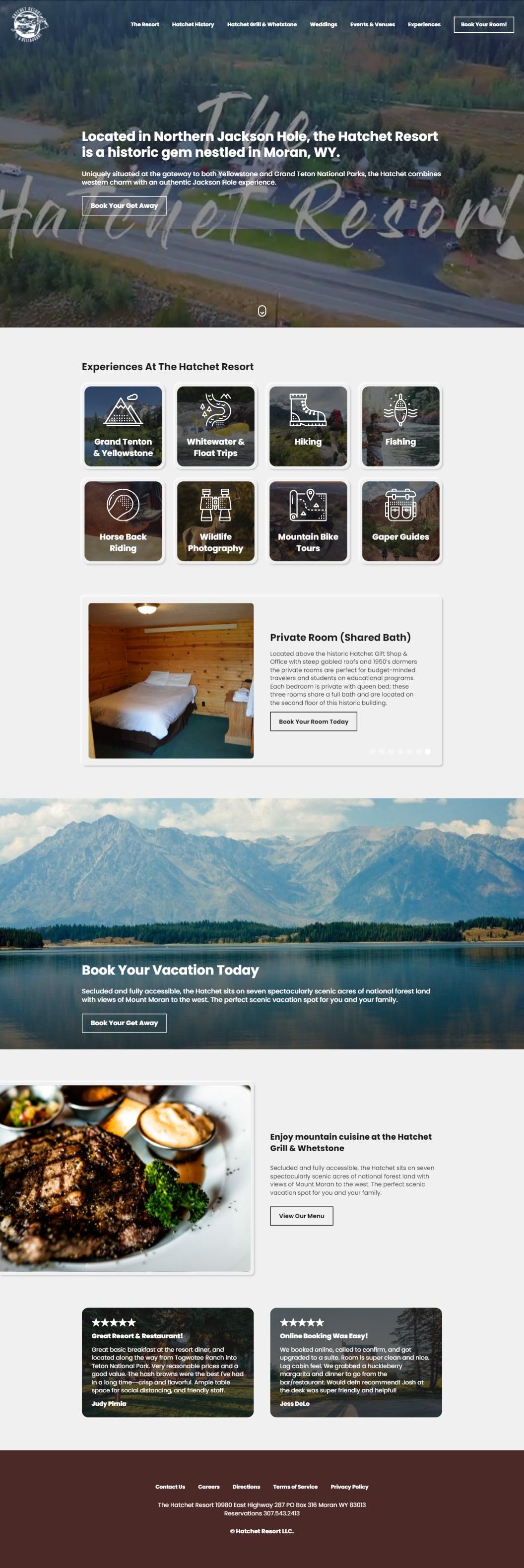 A great get away resort in Moran Wyoming