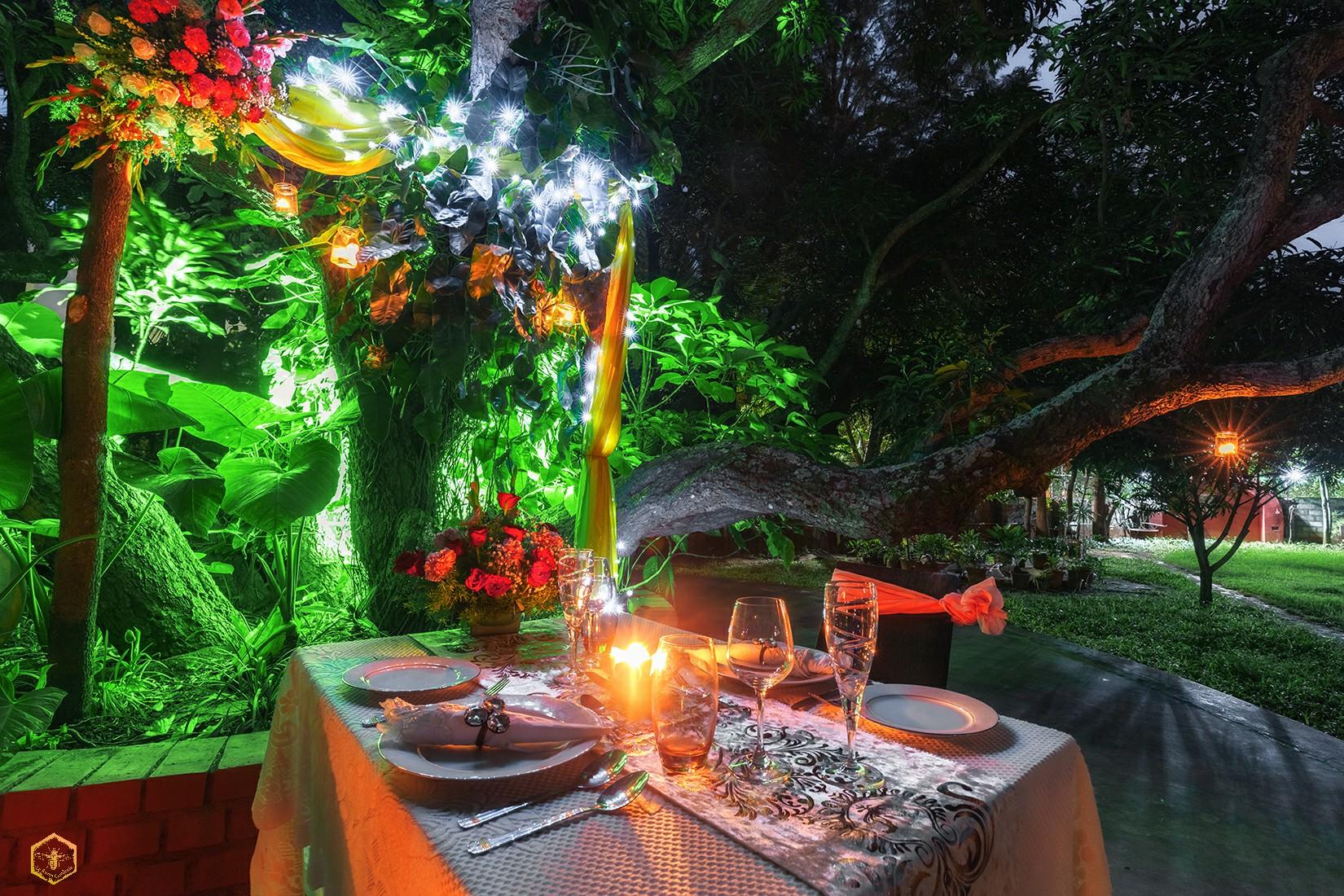 romantic escape at le roma gardenia
