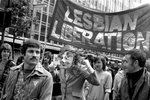 broadcast an LGBTQ history lecture