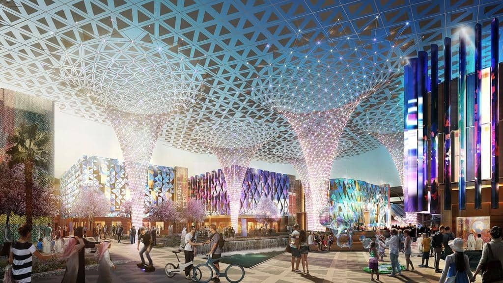 Architecture-expo-dubai-innovation-expo2020-technology-lighting-exterior-plaza