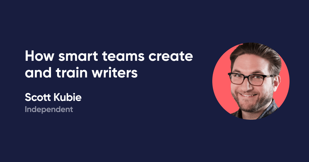 How smart teams create and train writers