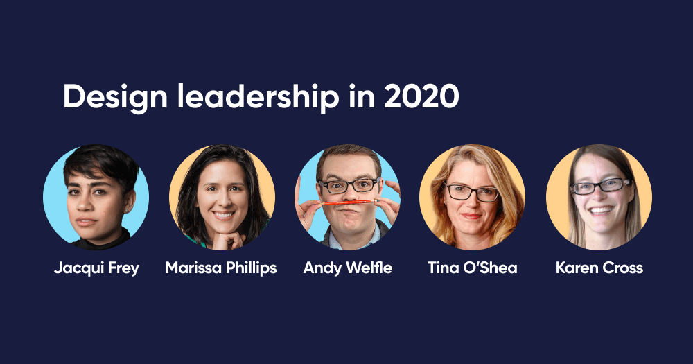 Panel: Design leadership in 2020
