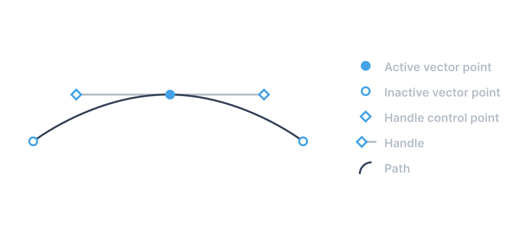 The anatomy of a bezier curve