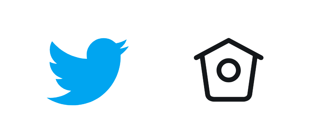 Twitter using a strong metaphor for it's logo