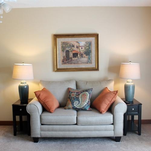 Emporia Presbyterian Manor Independent Living Living Room