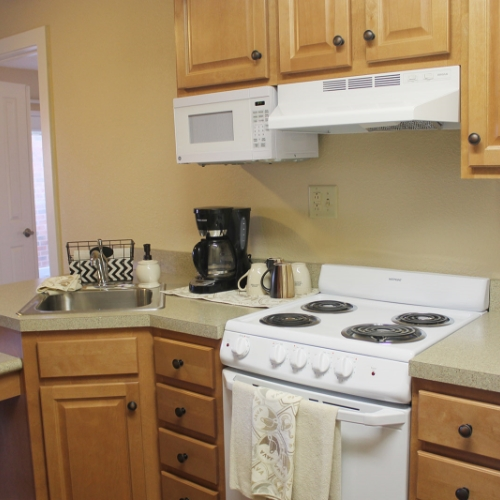 Emporia Presbyterian Manor Independent Living Kitchen Image