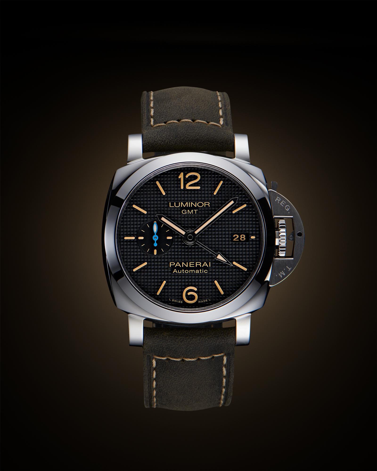 photographe de montre de luxe Panerai