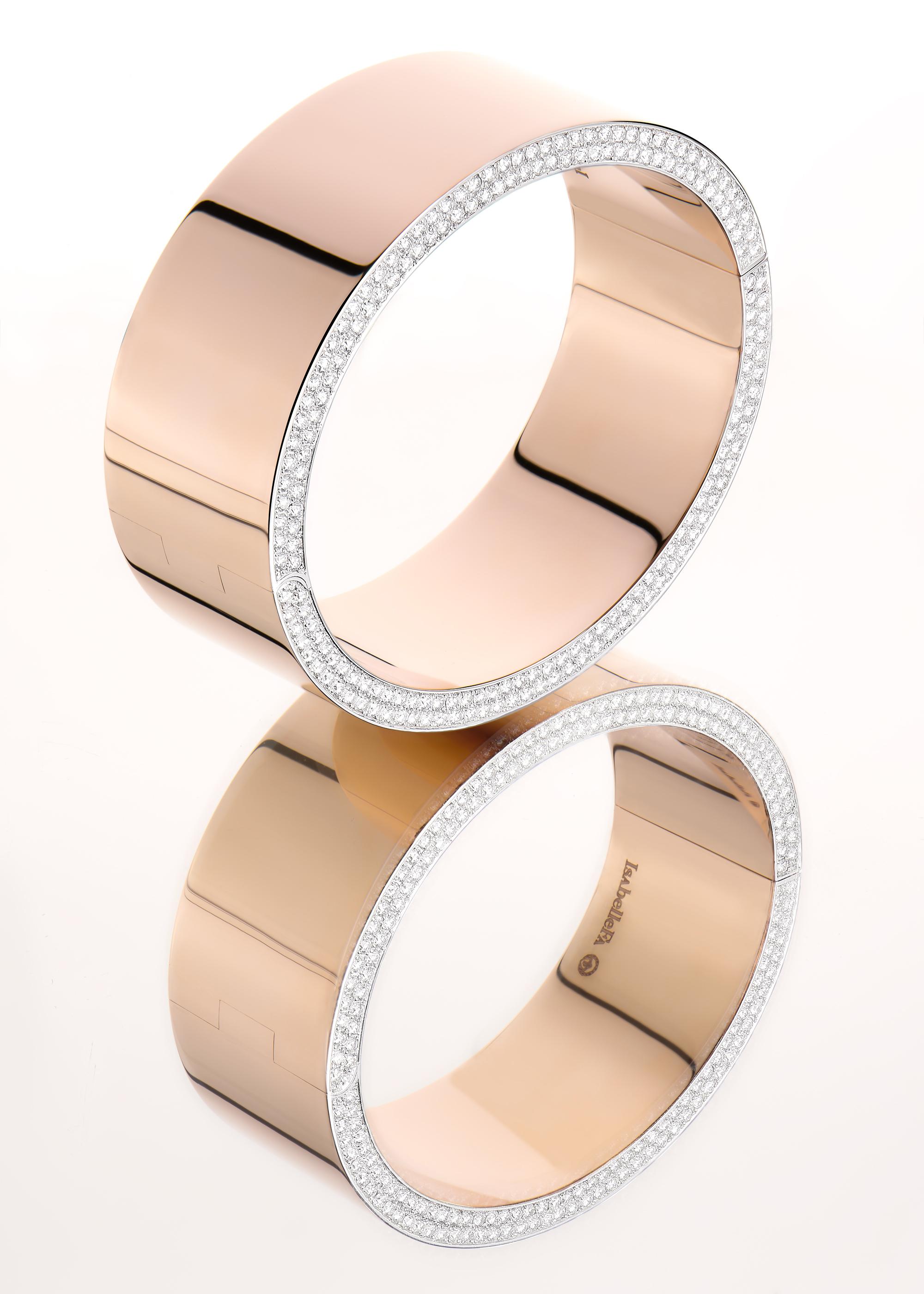 photo d'un bracelet de la marque de bijou isabelfa par philippe hahn photographe de haute joaillerie
