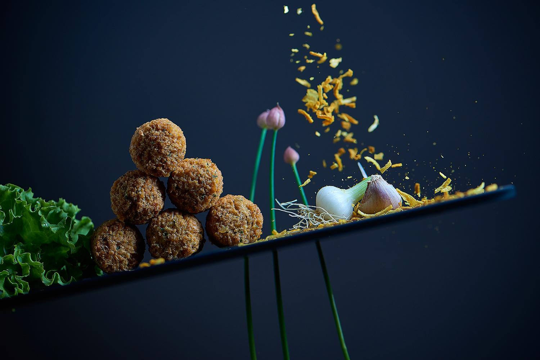 falafel kulinarische imagewerbung für vegetarische qualität zürich