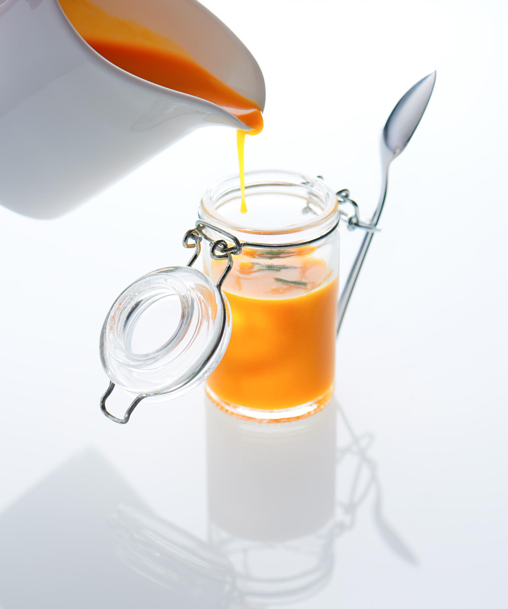 image culinaire de soupe de potiron