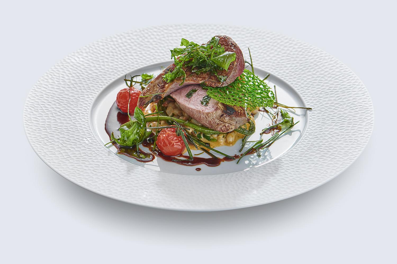 Gericht im Restaurant des Hotel Glacier Grindelwald