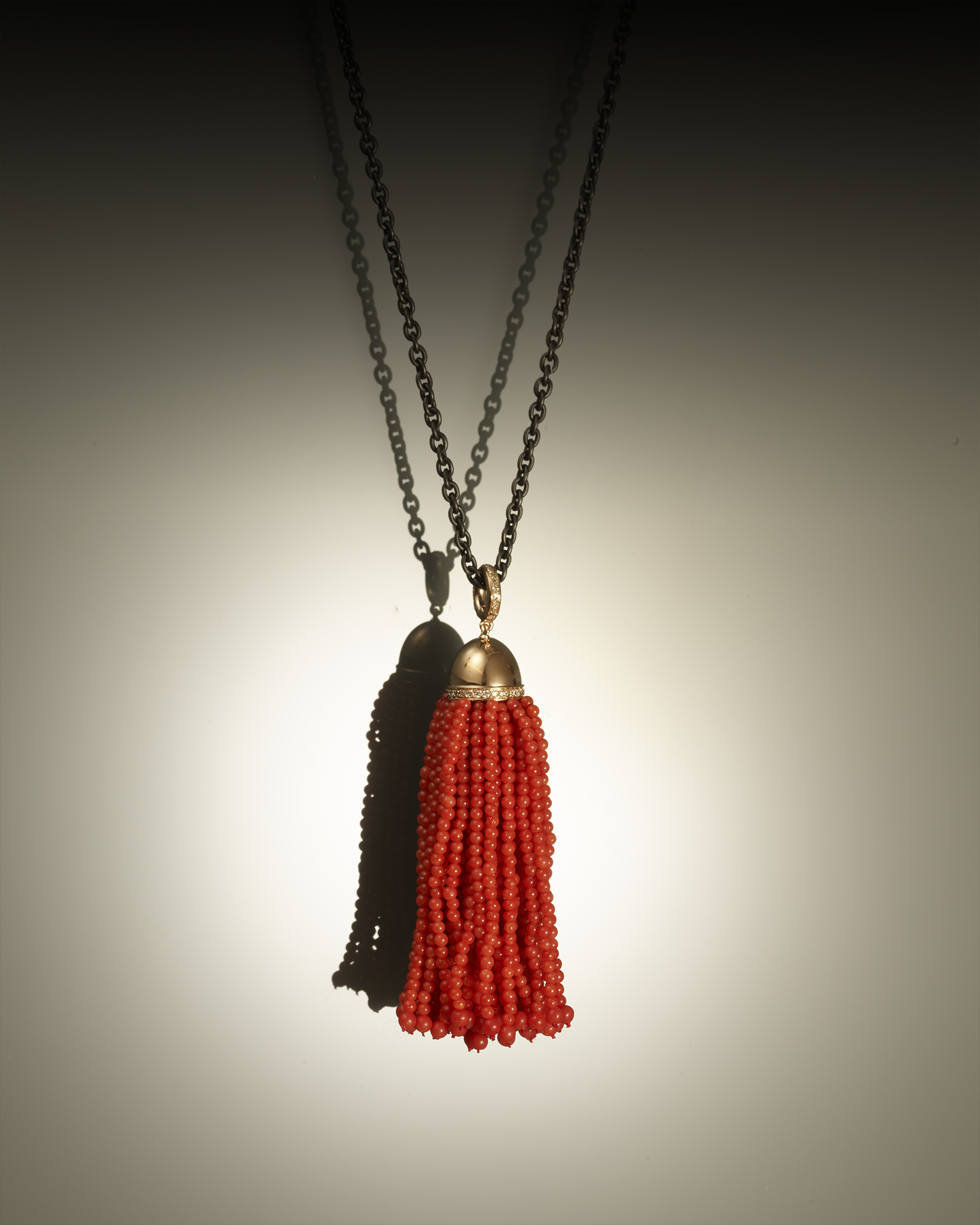 pendentif corail