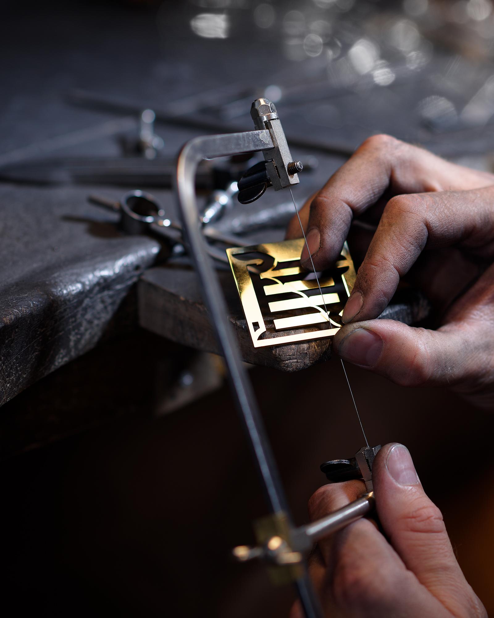 Reportage photo dans l'atelier du bijoutier Mezger à Basel