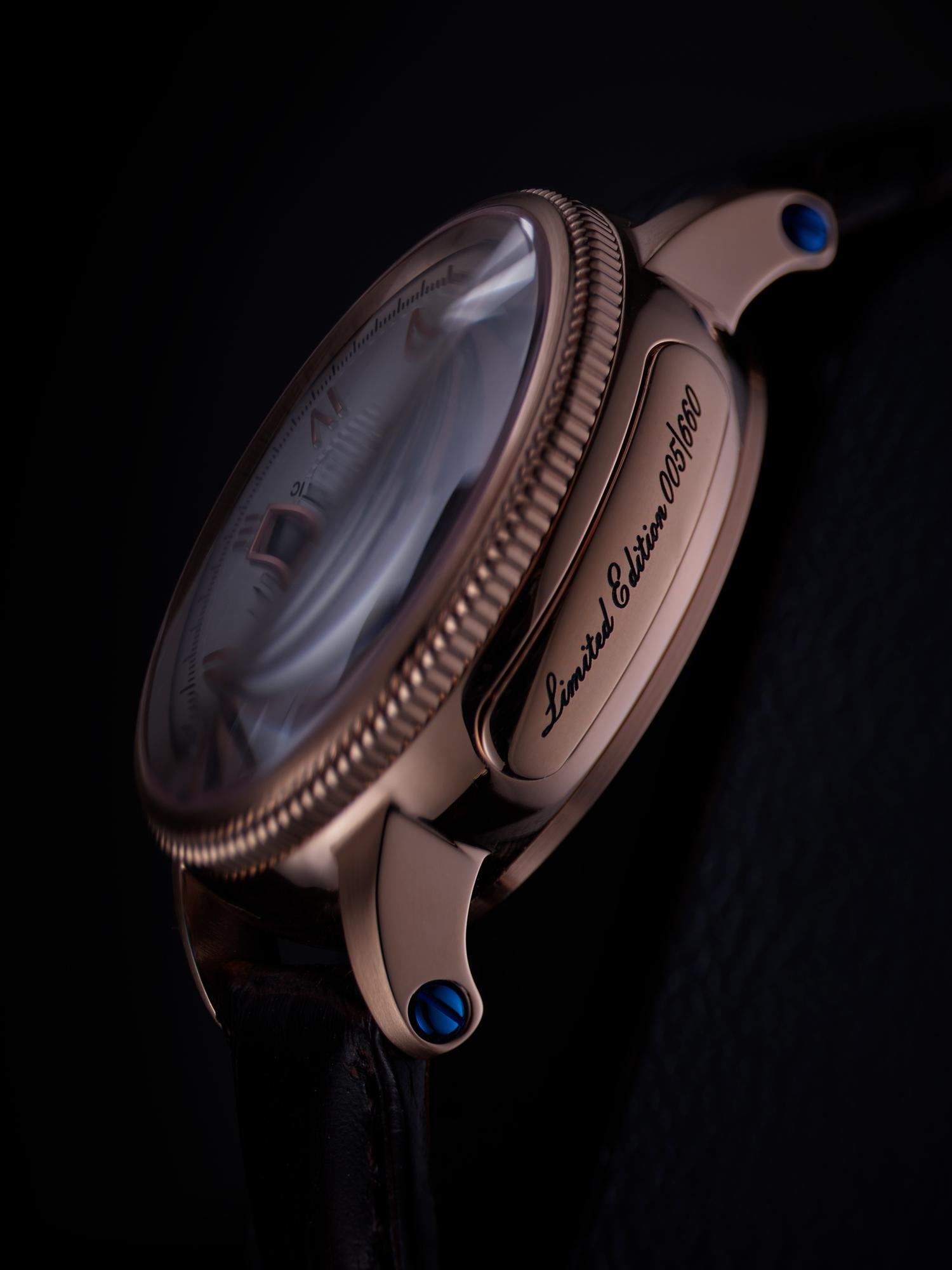 Macro - Détail de la montre Edition Limitée
