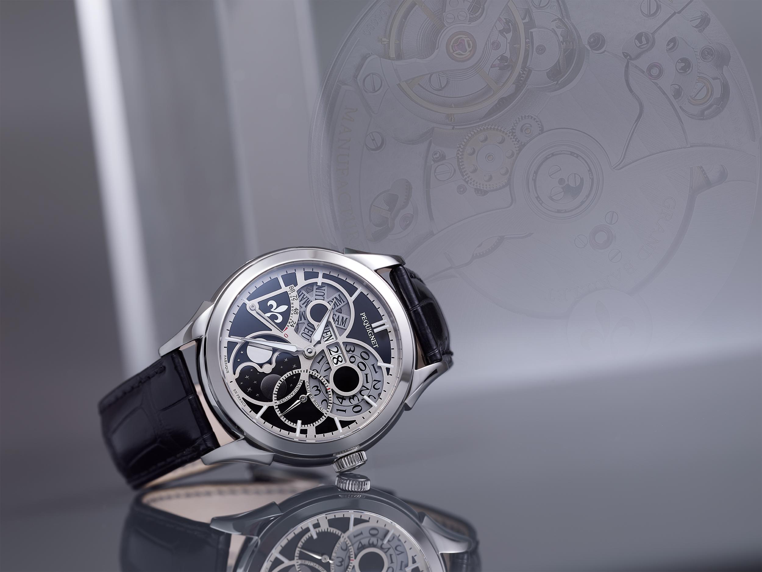 Image de studio pour la montre Royale de Pequignet