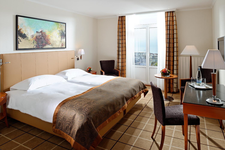 Doppelzimmer im Hotel de la paix in Lausanne