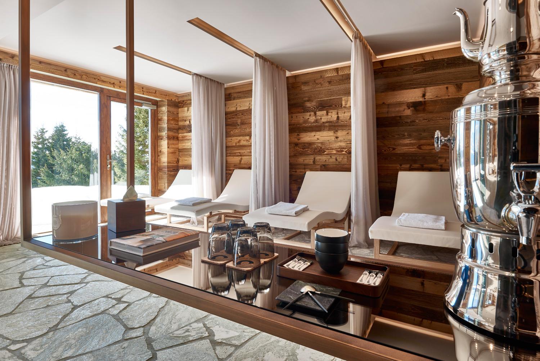 Entspannungsraum im Hotel Chandolin Spa