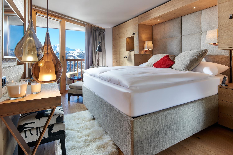 Doppelzimmer Chandolin Hotel