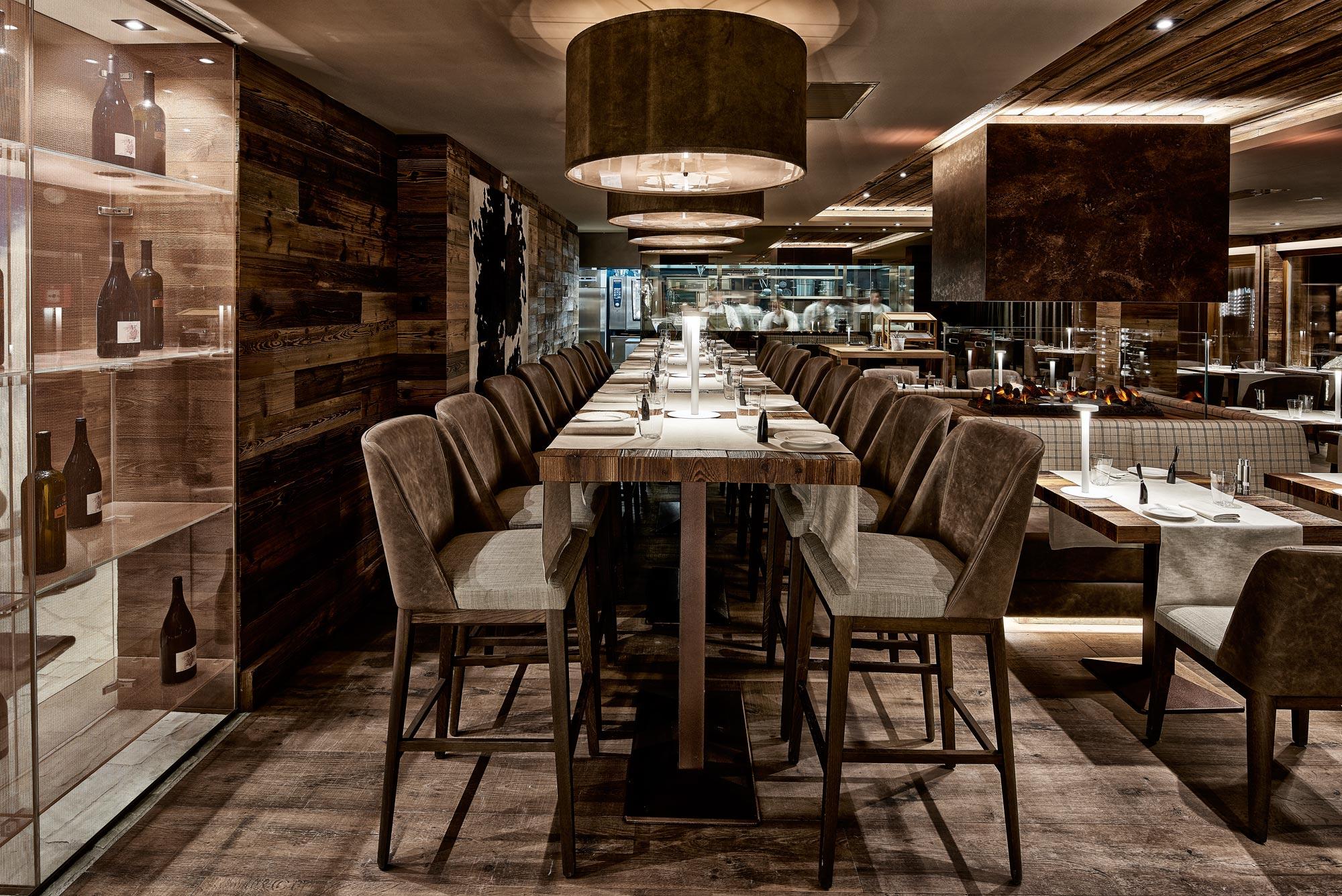 restaurant du chandolin boutique hotel