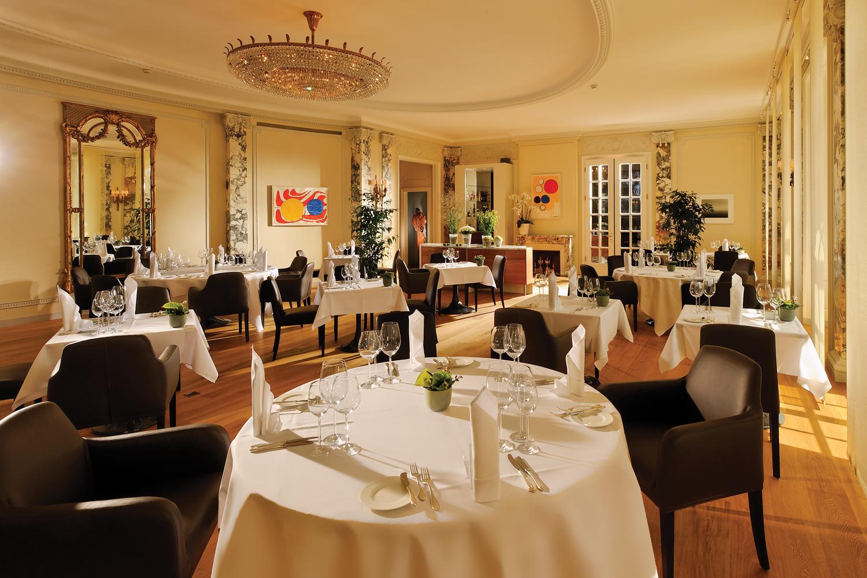 Restaurant des Grand National Hotels in Luzern