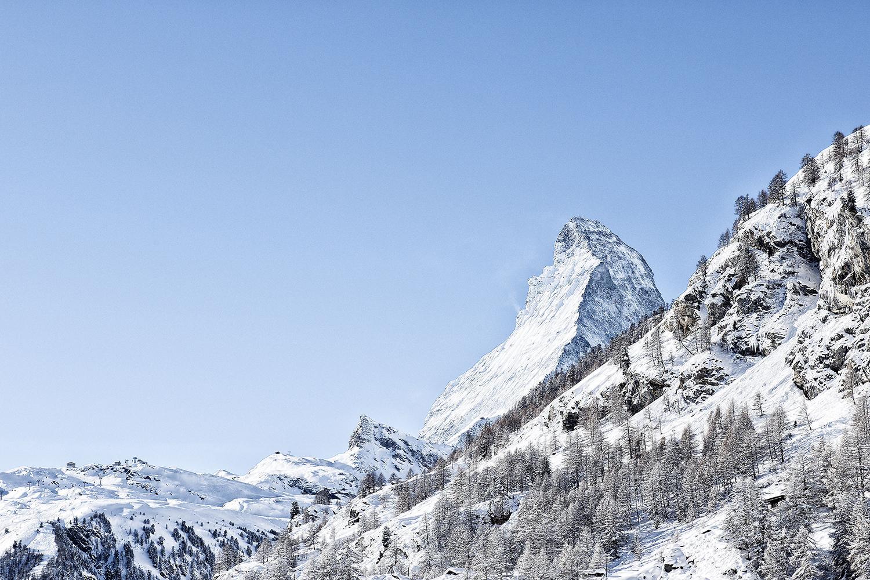 Matterhorn von Zermatt aus