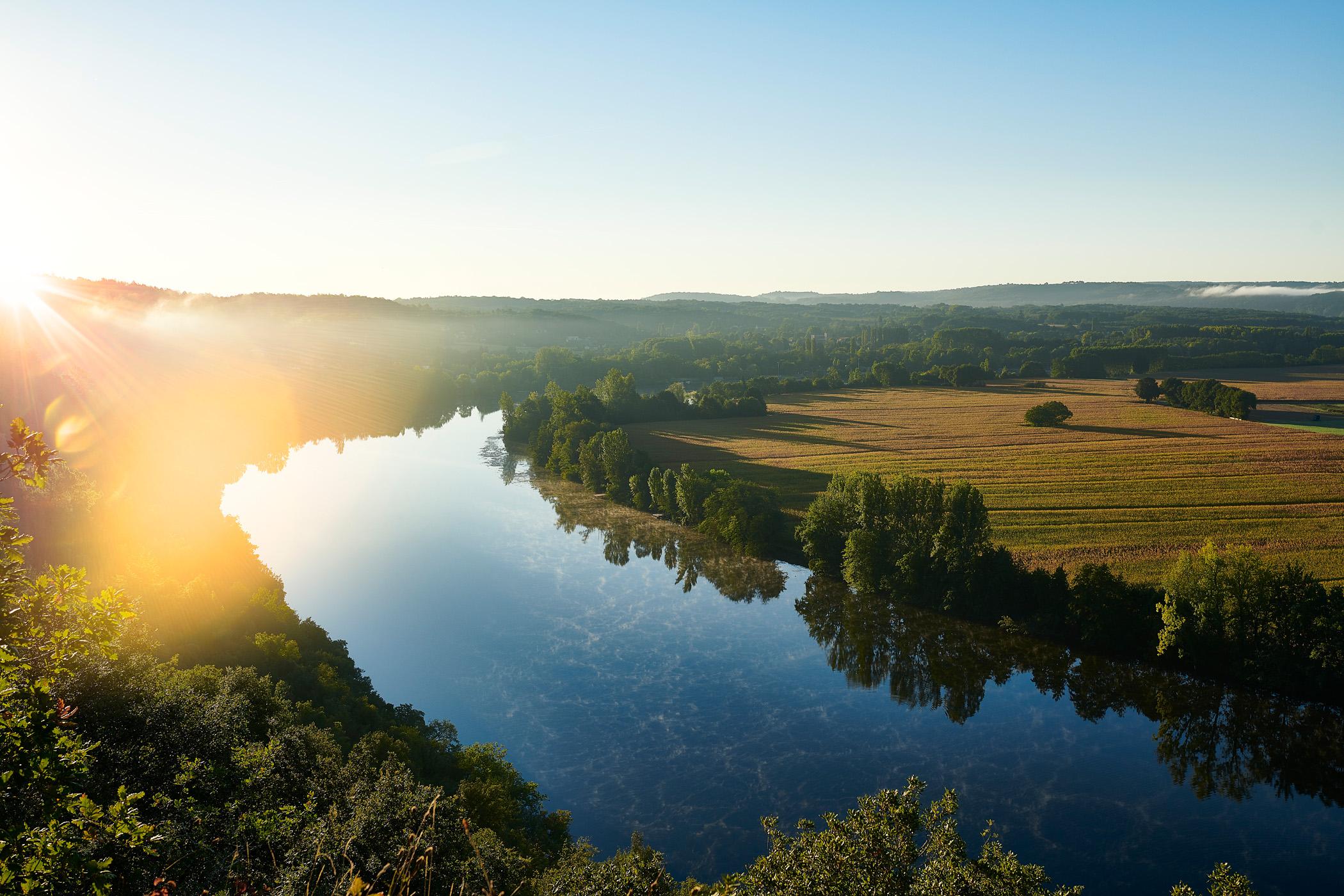 die Wasseramsel für das Hotelgelände La Métairie in der Dordogne
