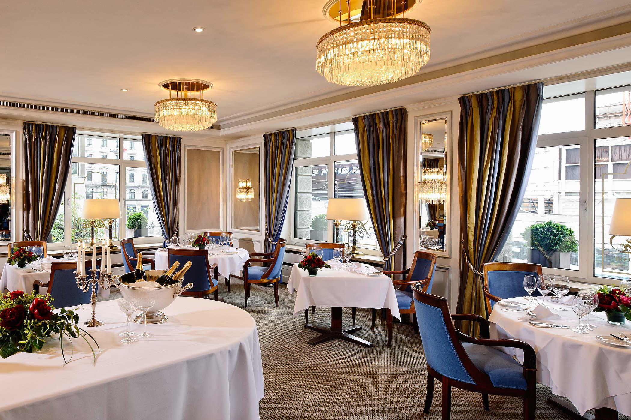 fotografie hotel restaurant hotel schweizerhof zürich