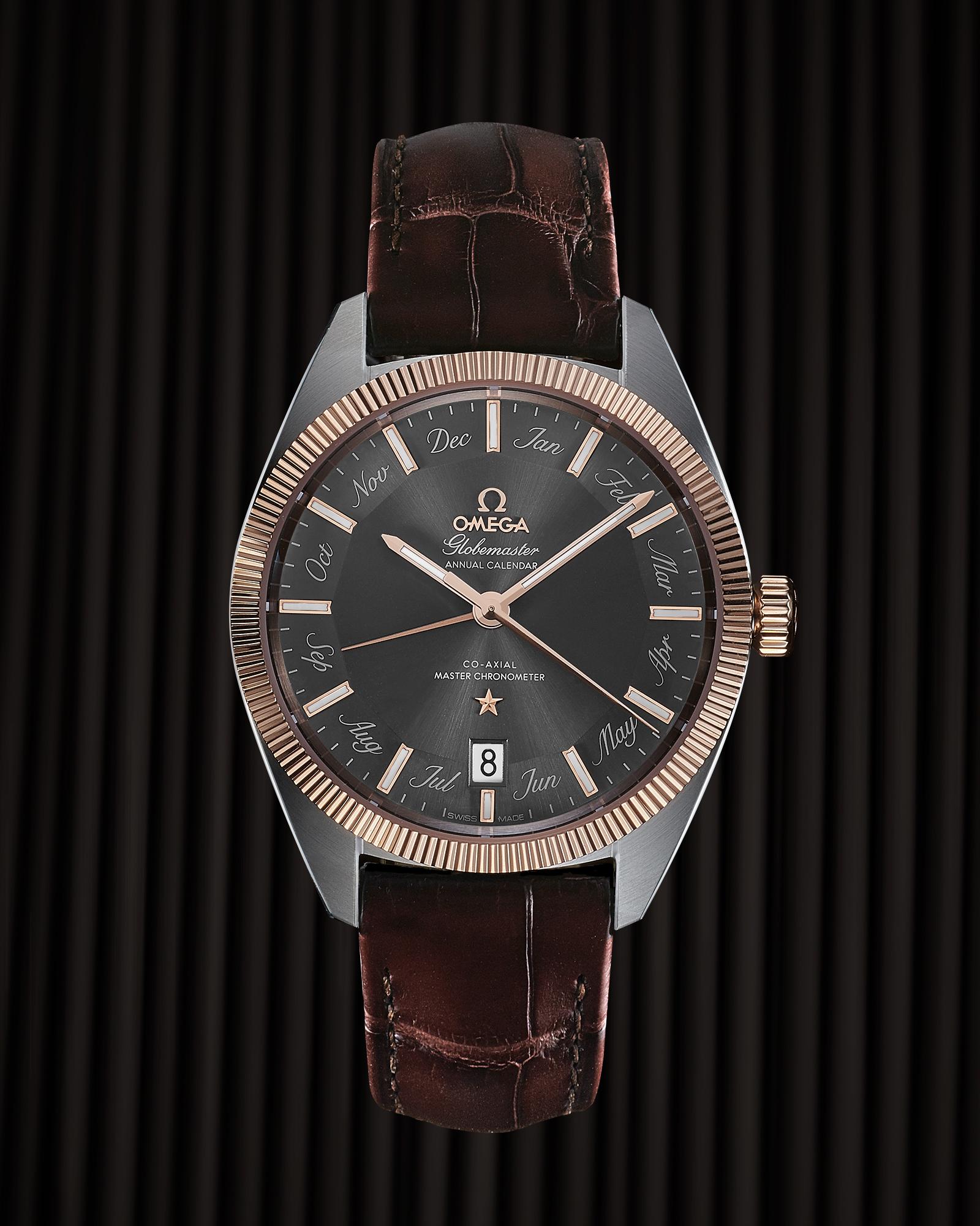 photo soldat de la montre omega globemaster