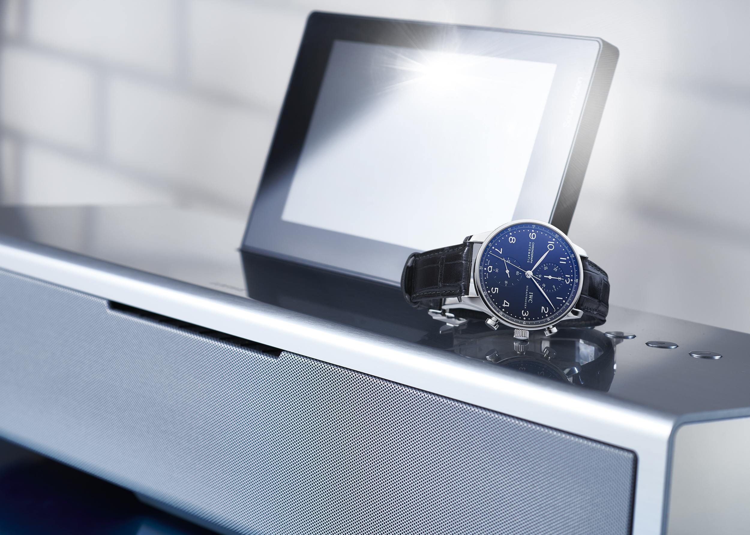 image d'ambiance pour une montre de la marque iwc