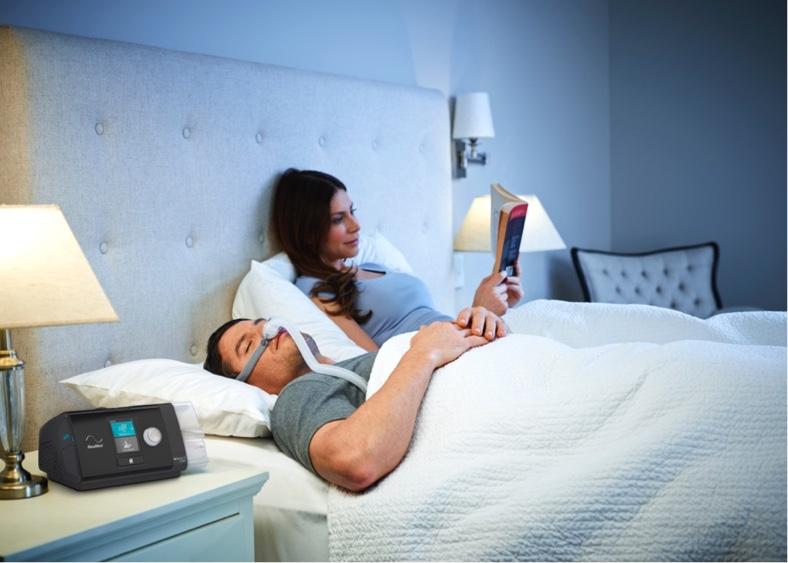 Resmed PEI help people manage their sleep apnoea